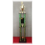 4 Poster Fantasy Football Trophy