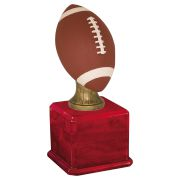 Large Color Football Perpetual Trophy