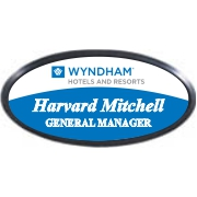 Oval Name Tag with Black Holder