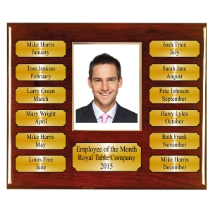 Perpetual Rosewood Piano Finish Plaque